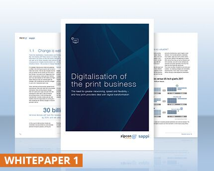 "Whitepaper 1 – ""Digitizing the print industry"" (PDF Download)"